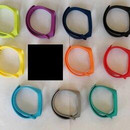 Ремешки для умных часов - Цветные ремешки для Mi Band 3 и 4, 0