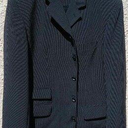 Пиджаки - Новый удлиненный костюмный пиджак в мелкую полоску, 0