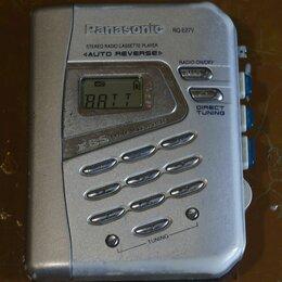 Музыкальные центры,  магнитофоны, магнитолы - Аудиоплеер кассетный panasonic, 0