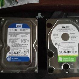Жёсткие диски и SSD - Жесткий диск wd blue и green на 1 тб, 0