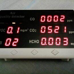 Измерительные инструменты и приборы - Тестер качества воздуха газоанализатор СО2 формальдегида угарного газа, 0