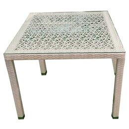 Столы - Стол из ротанга TURIN T003 (ажурный), 0