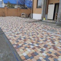 Тротуарная плитка, бордюр - Вибропрессованная плитка тротуарная. Бордюр. Продажа и установка, 0