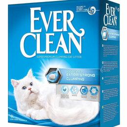 Наполнители для туалетов - Ever Clean Extra Strong Clumping Unscented комкующийся наполнитель без аромат..., 0