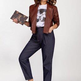 Одежда и обувь - Куртка 1678/1 DILANAVIP коричневая Модель: 1678/1, 0