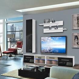 Шкафы, стенки, гарнитуры - Гостиная под ТВ 12 МДФ, 0
