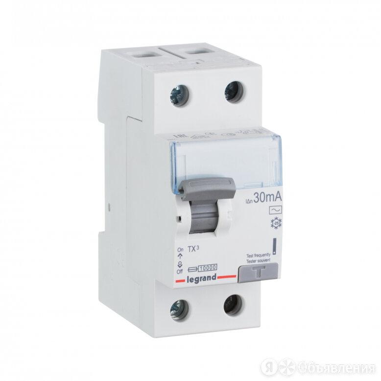 Выключатель дифференциального тока Legrand TX3 по цене 2999₽ - Концевые, позиционные и шарнирные выключатели, фото 0