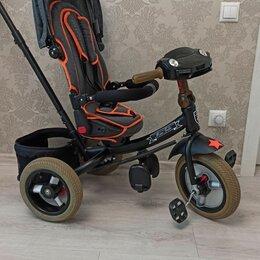 Трехколесные велосипеды - Велосипед детский трëхколëсный трансформер, 0
