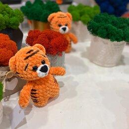 Мягкие игрушки - Плюшевый тигренок амигуруми, 0