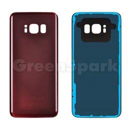 Корпусные детали - Задняя крышка для Samsung G950F Galaxy S8 (бордовый), 0