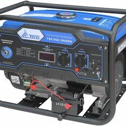 Электрогенераторы и станции - Бензогенератор TSS SGG 3000EN, 0
