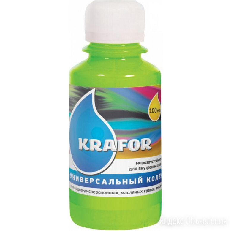 Универсальный колер KRAFOR №25 по цене 214₽ - Промышленная химия и полимерные материалы, фото 0