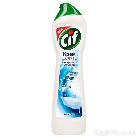 CIF Крем чистящий Cif Normal Activ Fresh белый 250 мл по цене 89₽ - Бытовая химия, фото 0