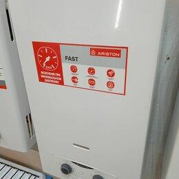 Водонагреватели - Водонагреватель газовый Ariston Fast 10 l ng новый, 0