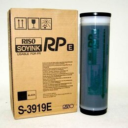 Краски - Краска RISO FR/RP 3500/3590/3100 Black   S-3919E отгружается только в четном ко, 0