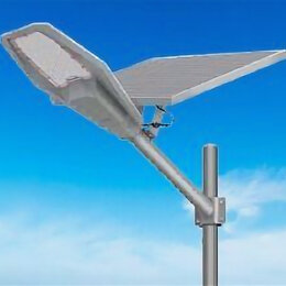 Уличное освещение - Уличный фонарь автономный прожектор 100 Вт солнечный, 0
