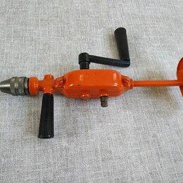 Дрели и строительные миксеры - Дрель ручная-двухскоростная. Произведена в СССР, 0