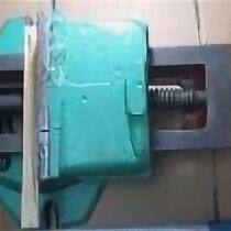 Тиски - Тиски станочные 250 мм поворотные чугун уцененные, 0