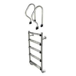 Лестницы и поручни - Aquaviva Лестница Aquaviva SP-515 (5 ступ.) из 2-х элементов, 0