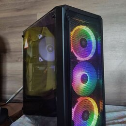 Настольные компьютеры - Игровой пк 16 ядер 16 гигов ссд видео 2гб, 0