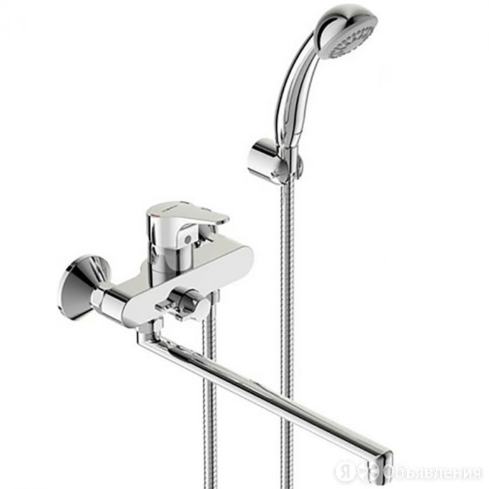 Смеситель для ванны и душа Vidima НЕКСТ BA372AA хром по цене 12199₽ - Готовые строения, фото 0