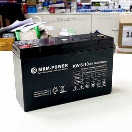 Аккумуляторные батареи - Свинцово-кислотный аккумулятор 6V 10Ah , 0