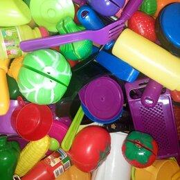 Игрушечная еда и посуда - Большой набор детской посуды, 0