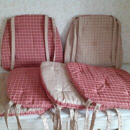 Декоративные подушки - Подушка (двухсторонняя) на стул, 6 шт, 0