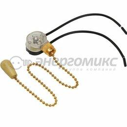 Бра и настенные светильники - Rexant выключатель для настенного светильника с проводом и деревянным наконеч..., 0
