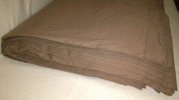 Ткани - Ткань - трикотаж цвета молочный шоколад, 100% х/б, 0