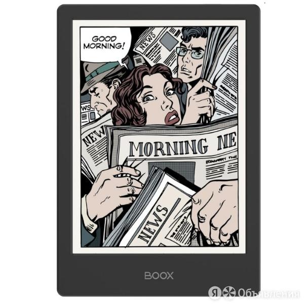 Электронная книга ONYX BOOX Poke 2 Color (черная) по цене 17990₽ - Книги в аудио и электронном формате, фото 0