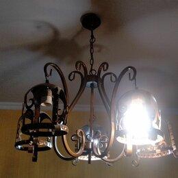 Люстры и потолочные светильники - Кованые люстры в интерьере, 0