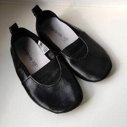 Обувь для спорта - Чешки из натуральной кожи, черные, 30р, б/у мало, 0