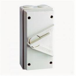 Электроустановочные изделия - Рубильники в корпусе ЭНЕРГИЯ Выключатель влагозащищенный WP 3P-63A (IP56) ЭНЕ..., 0