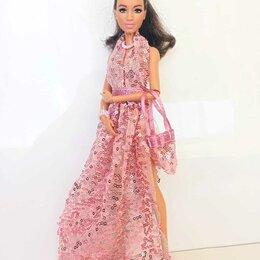 Аксессуары для кукол - Нарядное платье для Барби., 0