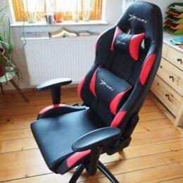 Компьютерные кресла - Компьютерное креслоигровое с качанием новое, 0