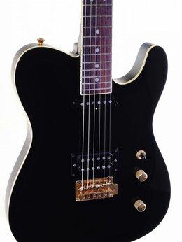 Электрогитары и бас-гитары - Fernandes TEJ-55G электрогитара, цвет черный USED, 0