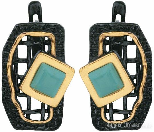 Серьги Балтийское золото 72751026-bz по цене 2950₽ - Серьги, фото 0