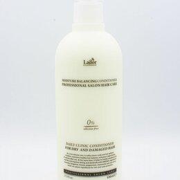 Маски и сыворотки - Увлажняющий бессиликоновый бальзам для волос Lador Moisture Balancing Conditione, 0