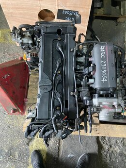 Двигатель и топливная система  - Двигатель Hyundai Elantra  1.5i 102 л/с G4EC, 0