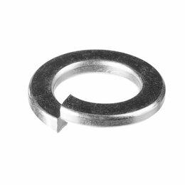 Шайбы и гайки - Оцинкованная пружинная шайба Зубр 10 мм DIN127 (5 кг), 0