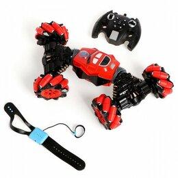 Радиоуправляемые игрушки - Машинка - перевертыш HYPER  с управлением жестами, 0