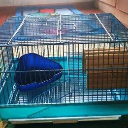 Клетки и домики  - Клетка для грызунов (хомяков, мелких животных), 0