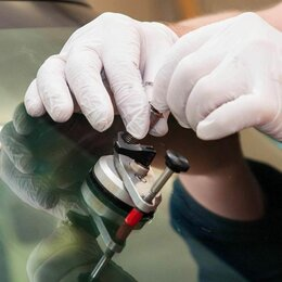 Уход за автомобилем - Ремонт сколов и трещин на лобовом стекле, 0