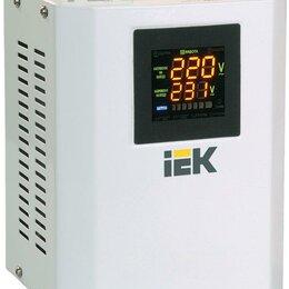 Источники бесперебойного питания, сетевые фильтры - Стабилизатор напряжения Boiler 0.5кВА IEK IVS24-1-00500, 0