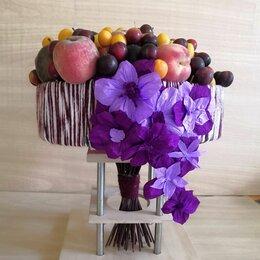 Цветы, букеты, композиции - Сливовое лукошко... , 0