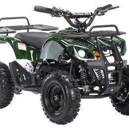 Электромобили - Детский электроквадроцикл MOTAX Mini Grizlik X-16 1000W (Зеленый камуфляж, 0