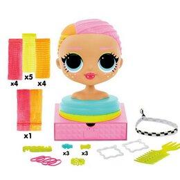 Куклы и пупсы - Игровой набор LOL Surprise Голова для моделирования причесок, 0