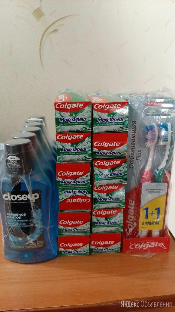 Продам для чистки зубов пасту , ополаскиватель и щетки зубные по цене 50₽ - Полоскание и уход за полостью рта, фото 0