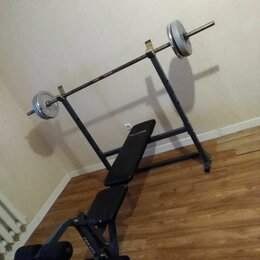 Другие тренажеры для силовых тренировок - Стойка для штанги и блинов боди солид, 0